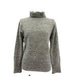 マーガレットハウエル MARGARET HOWELL ニット セーター カシミヤ タートルネック 長袖 2 グレー /TK