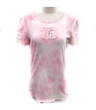 シャネル CHANEL Tシャツ カットソー ココマーク 半袖 38 ピンク 09C /EK ●D