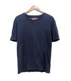 マルタンマルジェラ Martin Margiela 10 Tシャツ 半袖 無地 48 紺 ネイビー /☆G