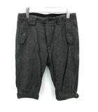 エンジニアードガーメンツ Engineered Garments パンツ ハーフ クロップド ヘリンボーン ウール 1 グレー /YM ●D