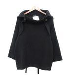 ワイズ Y's ヨウジヤマモト ニット 変形 セーター ウール 2 黒 /☆G