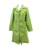 シビラ SYBILLA コート ナイロン 刺繍 薄手 スプリング M/L 黄緑 グリーン /☆G