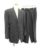 ジョルジオアルマーニ GIORGIO ARMANI スーツ セットアップ 上下 ジャケット パンツ リネン 48 グレー /KH ●D