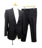 ドルチェ&ガッバーナ ドルガバ DOLCE&GABBANA スーツ セットアップ 上下 ジャケット パンツ 46 黒 ブラック /KH ●D