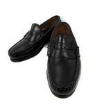 アレンエドモンズ Allen Edmonds 靴 コインローファー レザー 黒 ブラック 6.5 /☆Q16