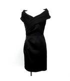 グレースコンチネンタル GRACE CONTINENTAL ワンピース ドレス タイト ひざ丈 ノースリーブ ビジュー 34 黒 ブラック /YM