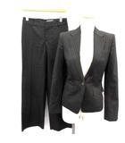 アンタイトル UNTITLED ON CLOSET スーツ セットアップ 上下 ジャケット パンツ ストライプ 1 グレー /EK