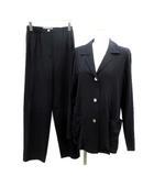 マックスマーラ MAX MARA スーツ セットアップ 上下 ジャケット パンツ J38 紺 ネイビー /TK