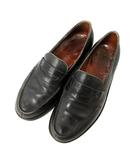 ジェイエムウエストン J.M.WESTON ローファー 革靴 レザー 5D 黒 ブラック /NT32