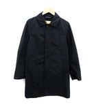 トラディショナルウェザーウェア Traditional Weatherwear ステンカラーコート ロング 36 紺 ネイビー /KH ●D