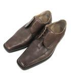 クラークス clarks レザーシューズ 革靴 9.5 茶 ブラウン /NT11