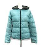デュベティカ DUVETICA ダウンジャケット フード ナイロン 40 水色 ブルー /KH ●D