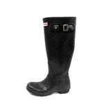 ハンター HUNTER レインブーツ 長靴 ロング UK4 黒 ブラック /NT25