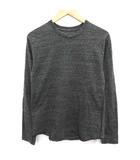 ソフネット SOPHNET. Tシャツ ロンT カットソー 長袖 S グレー /YM