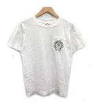 クロムハーツ CHROME HEARTS Tシャツ カットソー 半袖 ロゴ S 白 ホワイト /KH ●D