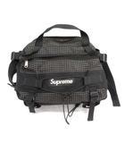 シュプリーム SUPREME 09AW リップストップマウンテンバッグ Ripstop Mountain Bag ウエストバッグ チェック 黒 ブラック /MF6