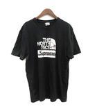 ザノースフェイス THE NORTH FACE シュプリーム SUPREME Tシャツ Metallic Logo T-Shirt 半袖 プリント L 黒 ブラック NT318081 /TK