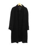 コムデギャルソンオム COMME des GARCONS HOMME コート ステンカラー ロング ウール M 黒 ブラック /KH