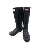 ハンター HUNTER レインブーツ 長靴 ラバー UK5 紺 ネイビー /KH ●D