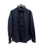 エポカ ウォモ EPOCA UOMO シャツ 長袖 50 紺 ネイビー /TK