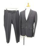 エディフィス EDIFICE SOLOTEX 18AW スーツ セットアップ 上下 シングル ジャケット パンツ 48 グレー /YM