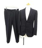 ビームスエフ BEAMS F スーツ セットアップ 上下 シングル ジャケット パンツ 93 紺 ネイビー /YM