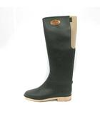 イルビゾンテ IL BISONTE 長靴 レインブーツ ロング UK6 39 カーキ /YM ●D