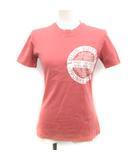 ルイヴィトン LOUIS VUITTON 18年製 Tシャツ カットソー LVスタンプ プリント 半袖 XS ピンク /YM