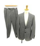 エディフィス EDIFICE Le Plus Eleve スーツ セットアップ 上下 シングル ジャケット パンツ ストライプ 44 グレー /YM