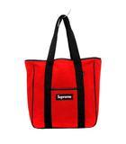 シュプリーム SUPREME 18AW トートバッグ ポーラテック Polartec Tote Bag ボックスロゴ フリース 赤 黒 /YM ●D