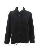 マーガレットハウエル MARGARET HOWELL 18SS シャツ ブラウス 長袖 コーデュロイ 1 黒 ブラック /KH