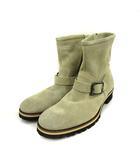 グラム glamb ブーツ ショート スエード 1 ベージュ /KH