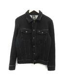 ディーゼル DIESEL ジャケット ニット ステンカラー ウール XS 黒 ブラック /KH