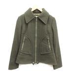 ディーゼル DIESEL 中綿ジャケット ステンカラー ウール XS カーキ 緑 /MF13 ●D