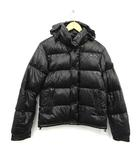 モンクレール MONCLER ダウンジャケット EVEREST エベレスト フード ナイロン 0 黒 ブラック /KH