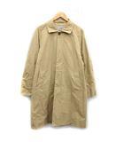 ヤエカ YAECA 17SS コート ステンカラー soutien collar coat ロング L ベージュ /KH ●D