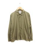 ヤエカ YAECA スナップボタンシャツ comfort shirts 長袖 L カーキ 緑 /MF11 ●D