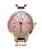 シチズン CITIZEN XC クロスシー 腕時計 電波ソーラー H058-T016545 シルバー ピンク /☆G
