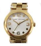 マークバイマークジェイコブス MARC by MARC JACOBS 腕時計 クオーツ 白 ホワイト ゴールド MBM3029 /KH ■CA