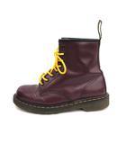 ドクターマーチン DR.MARTENS ブーツ ショート Smooth Leather Boots 8ホール レザー UK8 紫 /KH ☆CA☆