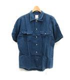 ビズビム VISVIM RUST BELT SHIRT CHAMBRAY シャンブレーシャツ 半袖 デニム調 2 青 ブルー /NT30 ▲H