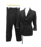 ワイズ Y's ヨウジヤマモト スーツ セットアップ 上下 ジャケット パンツ 2 黒 ブラック /YM