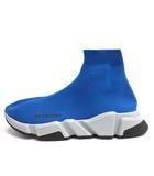 バレンシアガ BALENCIAGA スピードトレーナー スニーカー SPEED TRAINER SNEAKER 26.5cm 青 ブルー /MF1 ▲H