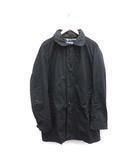 ジュンヤワタナベマン JUNYA WATANABE MAN COMME des GARCONS ステンカラーコート ロング L 黒 ブラック /MF33