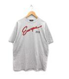 バレンシアガ BALENCIAGA 18SS Tシャツ カットソー 半袖 Europe 2018 プリント コットン S グレー /MF7