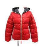 デュベティカ DUVETICA ティア THIA ダウンジャケット ナイロン フード付き 38 赤 レッド /YM