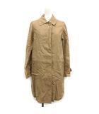 トラディショナルウェザーウェア Traditional Weatherwear コート ステンカラー ロング リネン 36 ベージュ /KH ■CA