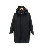 トラディショナルウェザーウェア Traditional Weatherwear コート スプリング ロング フード 34 紺 ネイビー /YO12