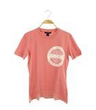 ルイヴィトン LOUIS VUITTON 18年製 Tシャツ カットソー 半袖 LVスタンプ プリント 半袖 XS ピンク /MY