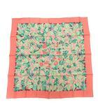 エルメス HERMES スカーフ カレ90 I'ARBRE de SOIE 絹の木 桑の木と蚕 シルク ピンク /KH ■OH ■WY